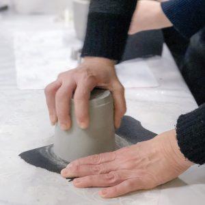 סדנת יצירה בבטון